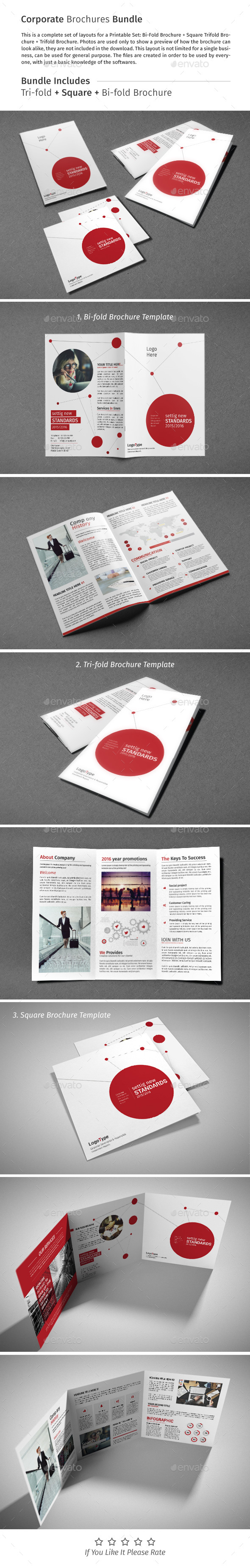Brochure Bundle 05 - Corporate Brochures