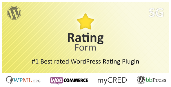 Rating Form - CodeCanyon Item for Sale