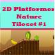 2D Platformer Dryland Cave Tileset  - GraphicRiver Item for Sale