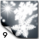 Snowflakes Alpha Transitions - VideoHive Item for Sale