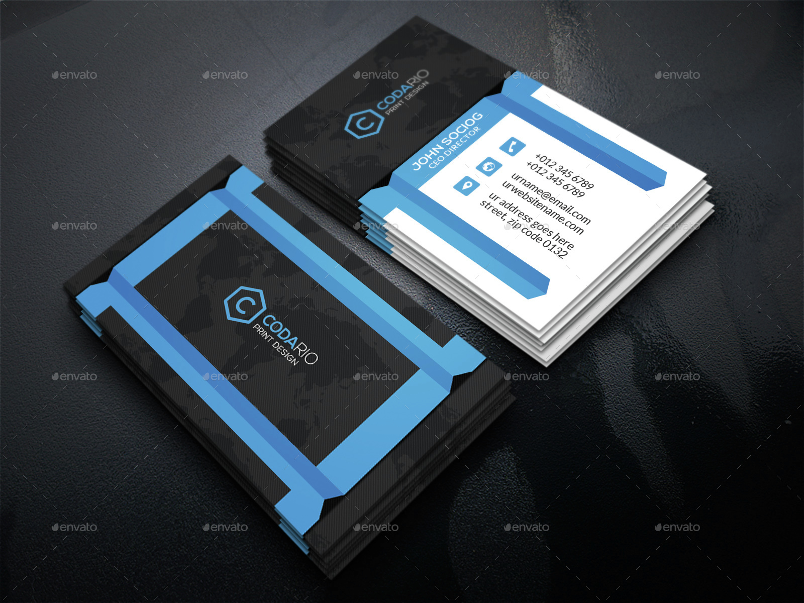 Modern Creative Business Cards by Labib- | GraphicRiver