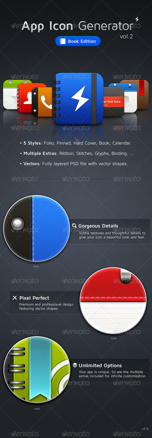 App Icon Generator Vol.2 - Software Icons