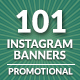 Instagram Banners Promo - GraphicRiver Item for Sale