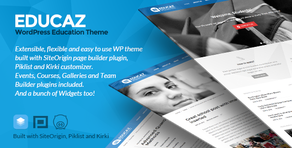 Educaz – WP academic – education theme