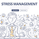 Stress Management Doodle Concept - GraphicRiver Item for Sale