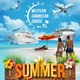 Summer Travel Flyer Template - GraphicRiver Item for Sale