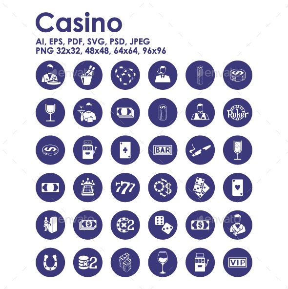 36 Casino icons - Miscellaneous Icons