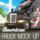 American Truck Mock-Up - GraphicRiver Item for Sale
