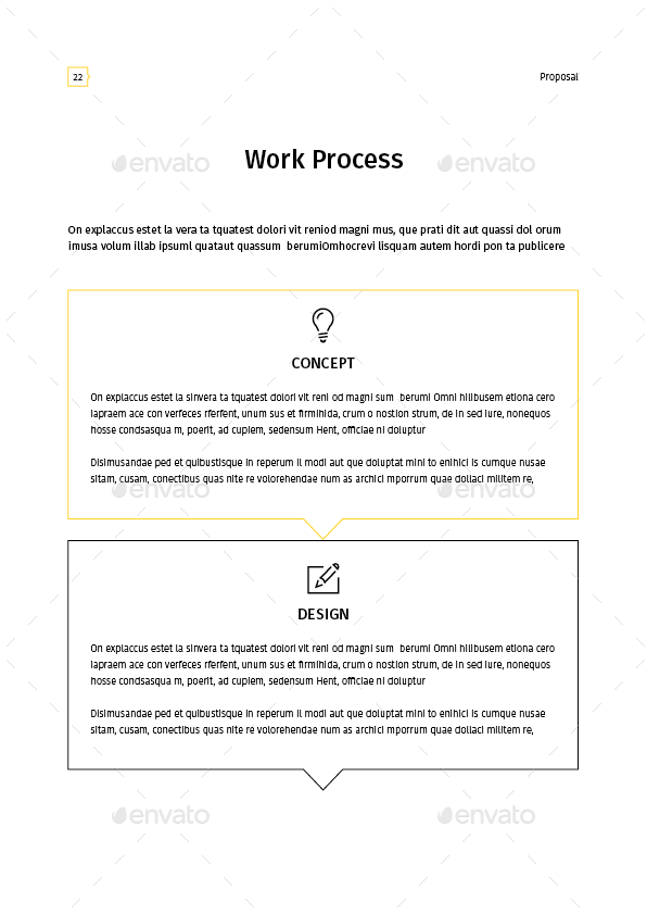 Proposal Template By Tontuz Graphicriver