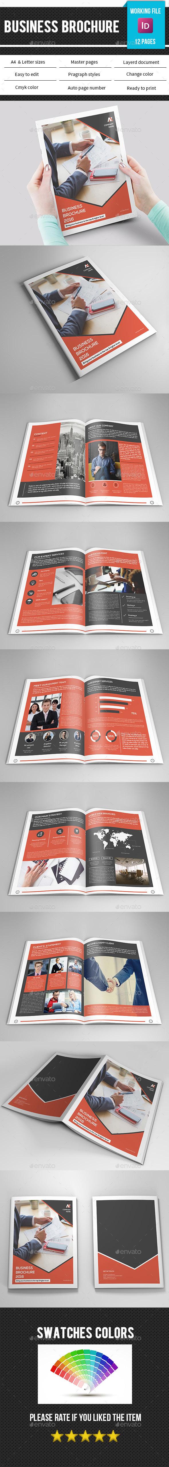 Corporate Brochure Template-V376 - Corporate Brochures