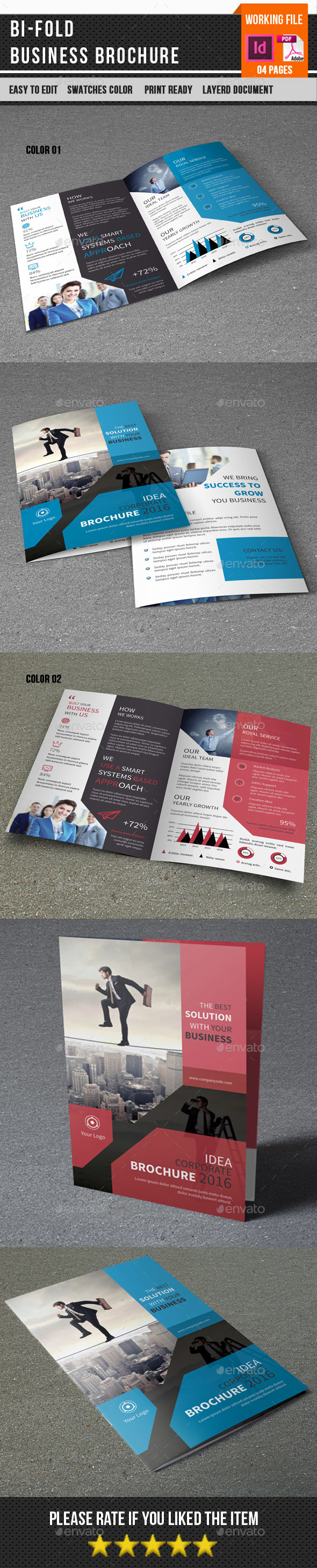 Corporate Bifold Brochure-V377 - Corporate Brochures