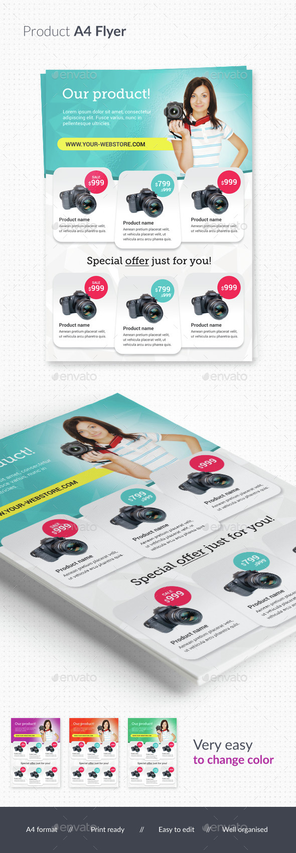 Product Multipurpose Flyer - Commerce Flyers