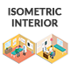 Isometric Interior Pack - GraphicRiver Item for Sale