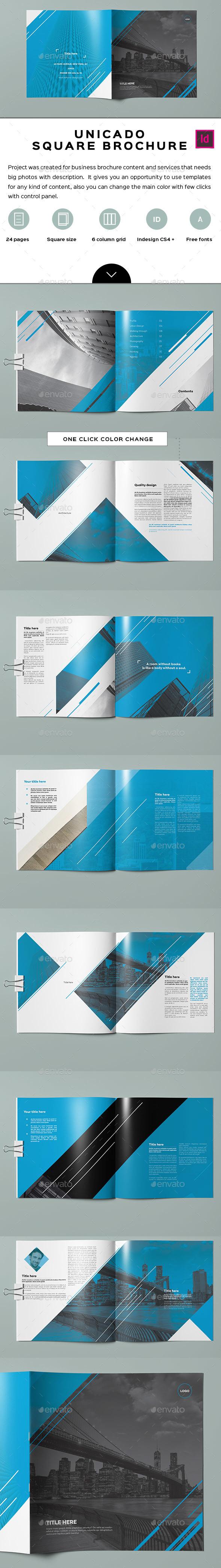 Unicado Business Minimal Brochure / Catalog - Corporate Brochures