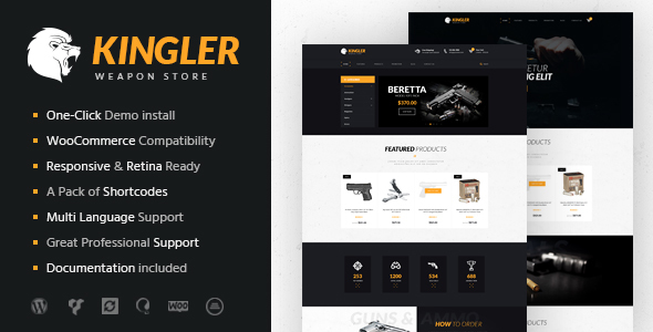Kingler | Weapon Store & Gun Training Theme