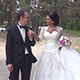Bride And Groom Walk In The Park - VideoHive Item for Sale