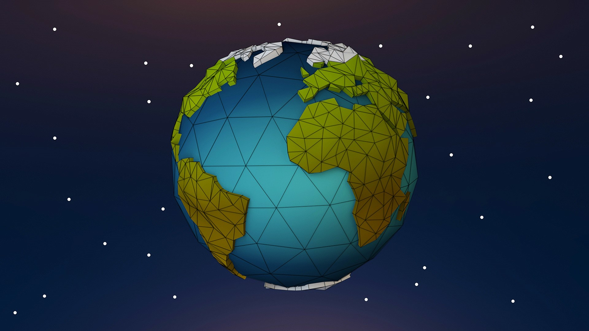 Low Poly 3d Earth By S I S C O 3docean