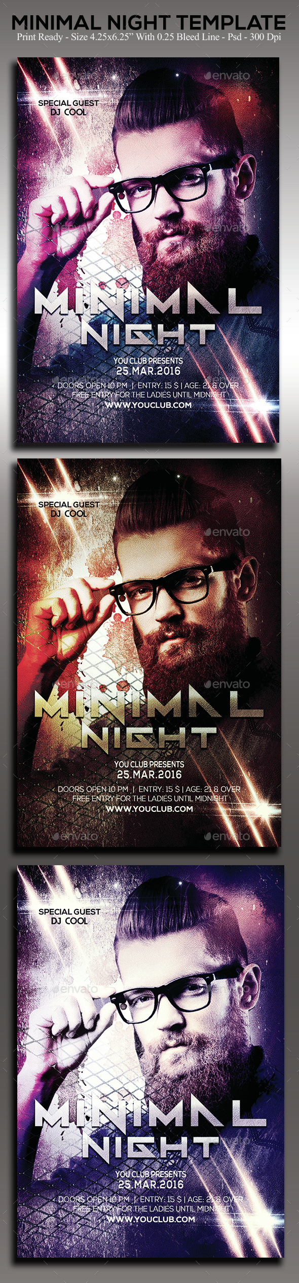 Minimal Night - Clubs & Parties Events