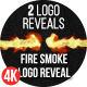 Fire Smoke Logo Reveal - VideoHive Item for Sale