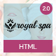 Royal Spa - Beauty Salon & Spa - ThemeForest Item for Sale