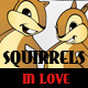 Valentine Squirrel Couple - GraphicRiver Item for Sale