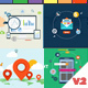Digital Agency Promotion - Flat Design Concepts - VideoHive Item for Sale