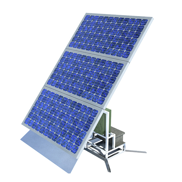 Single Stand Solar Panel RIGED - 3DOcean Item for Sale