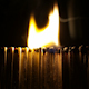 Burning Matches in the Dark - VideoHive Item for Sale