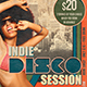 Indie Disco Session Flyer Template - GraphicRiver Item for Sale