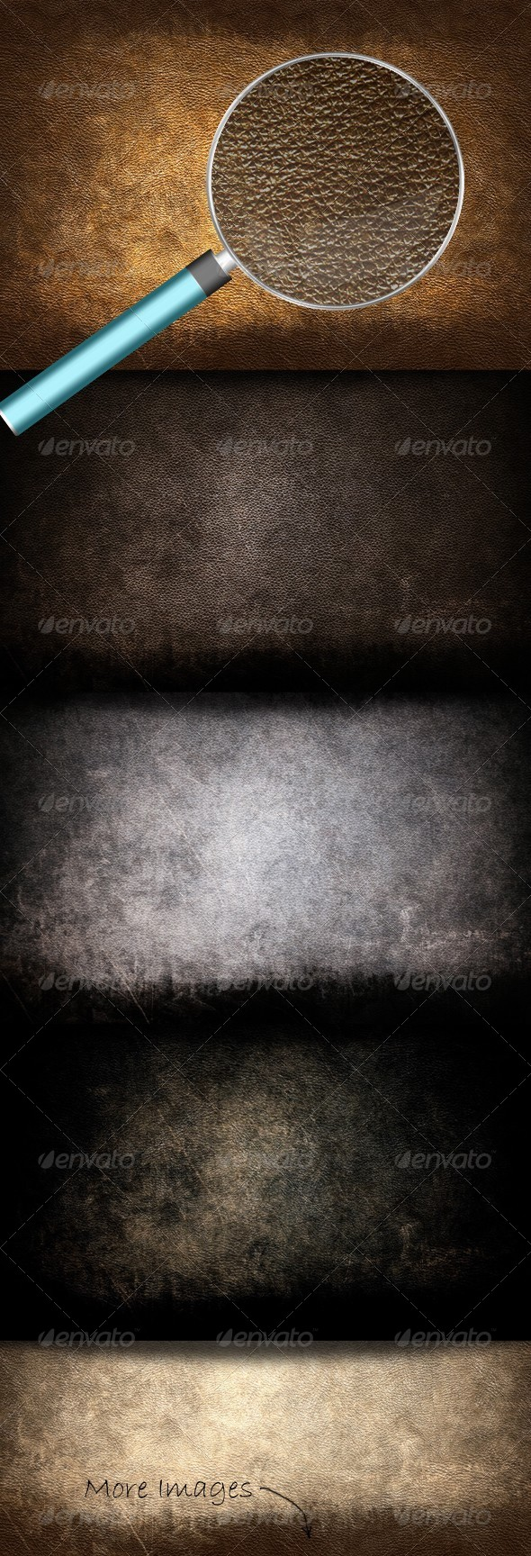 Grunge Leather Textures - Industrial / Grunge Textures
