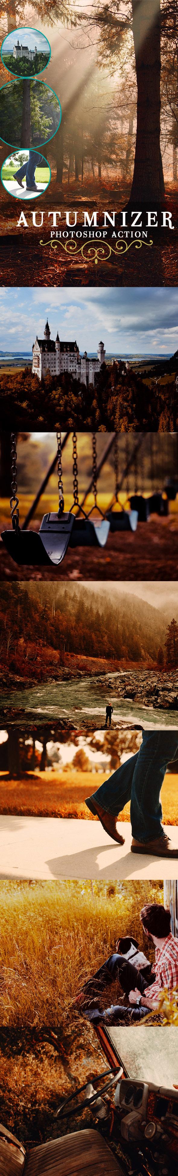 Autumnizer Photoshop Actions - Photo Effects Actions