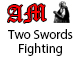 Two Swords Fighting