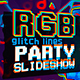 Glitch RGB Lines Party Slideshow - VideoHive Item for Sale