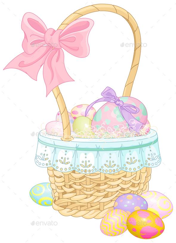 Easter Basket  - Miscellaneous Seasons/Holidays