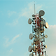 Cell Phone Mobile Tower No Birds - VideoHive Item for Sale