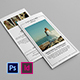 Wedding Photographer Trifold Brochure - GraphicRiver Item for Sale