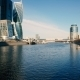 Skyscrapers on The Banks of The River Moscow - VideoHive Item for Sale