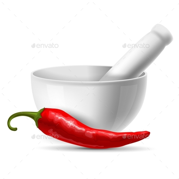 Red Chili Pepper - Man-made Objects Objects