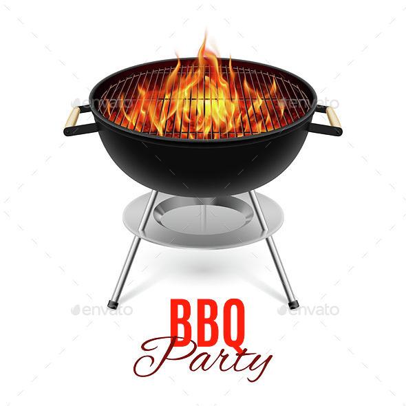 BBQ Grill - Food Objects