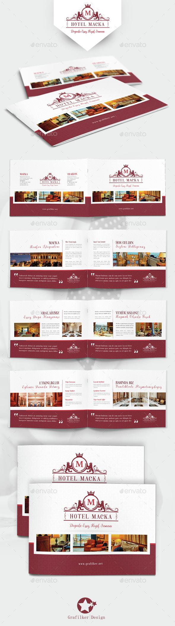 Hotel Brochure Templates by grafilker | GraphicRiver
