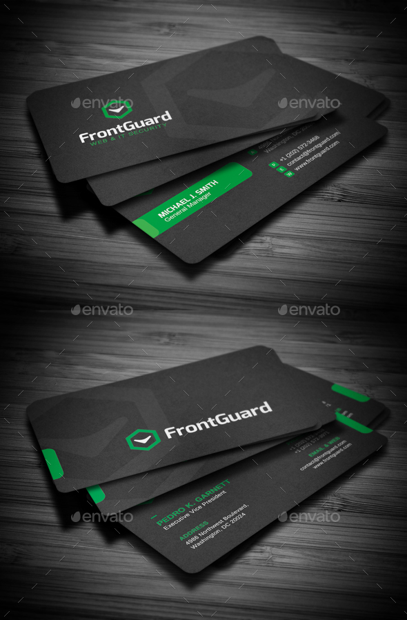 Business Cards Bundle #12 - Business Cards Print Templates