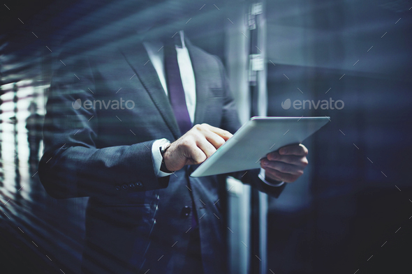 Networking in corridor - Stock Photo - Images