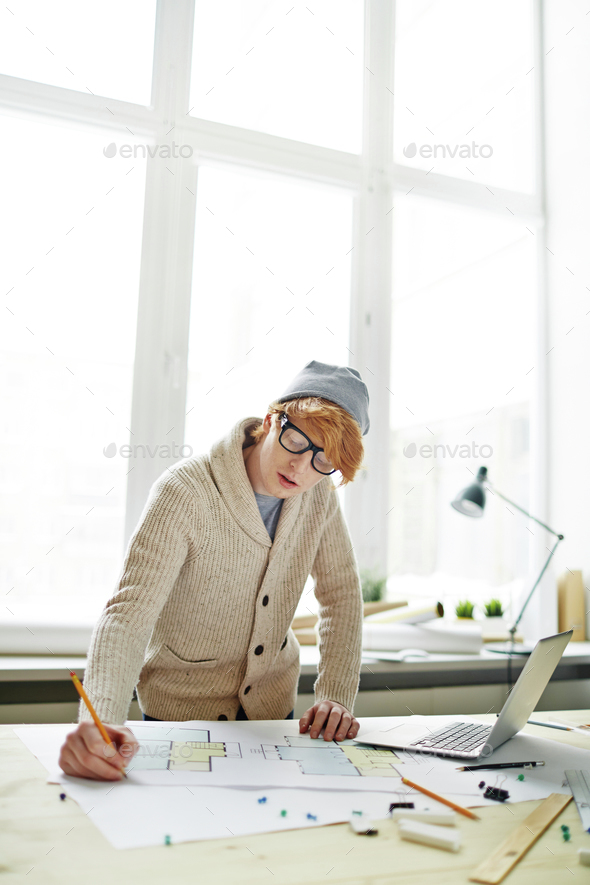 Young engineer - Stock Photo - Images