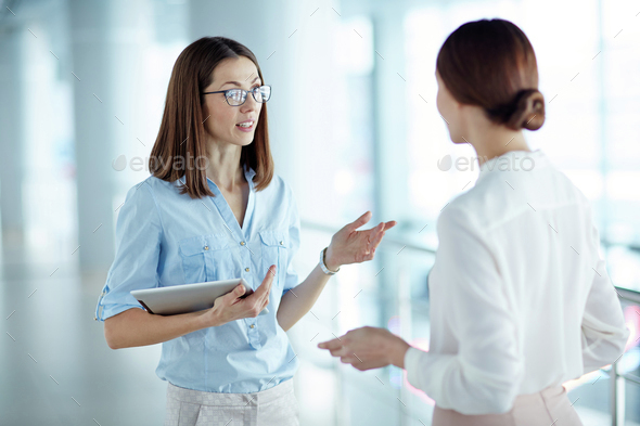 Female colleagues - Stock Photo - Images