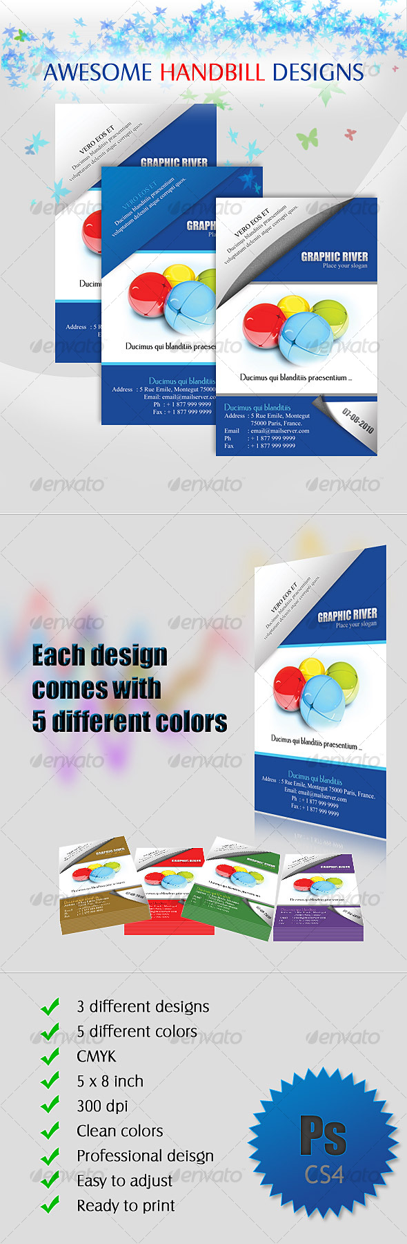 Handbill - Flyer Designs - Corporate Flyers