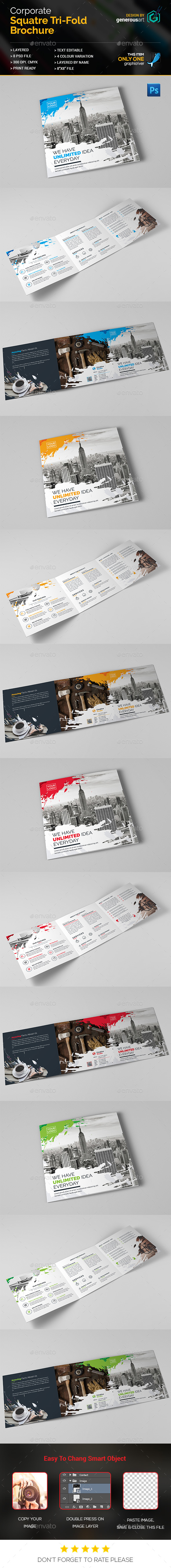 Square_Tri-Fold Brochure - Corporate Brochures
