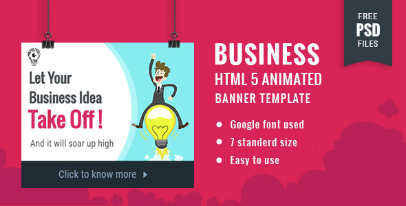 Business | HTML5 Google Banner Ad 18 - CodeCanyon Item for Sale