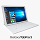 Samsung Galaxy TabPro S White with Keyboard - 3DOcean Item for Sale