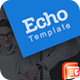 Echo PowerPoint Template - GraphicRiver Item for Sale