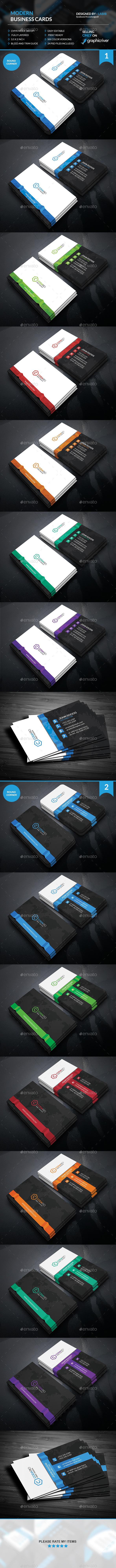 Modern Creative Business Cards - Creative Business Cards